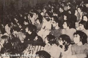 Il pubblico al Festival pop di Viterbo