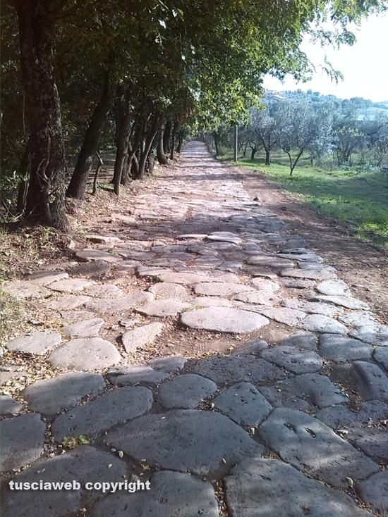 Montefiascone - La via Cassia Antica