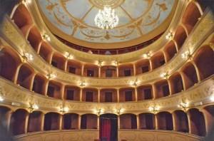 Acquapendente - L'interno del teatro Boni