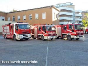 Viterbo - Vigili del fuoco - La caserma