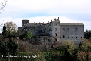 Montecalvello - Il castello di Montecalvello
