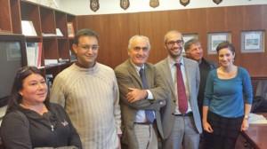 Civitavecchia - L'incontro di oggi tra Ricci e Cozzolino Civitavecchia - L'incontro di oggi tra Ricci e Cozzolino