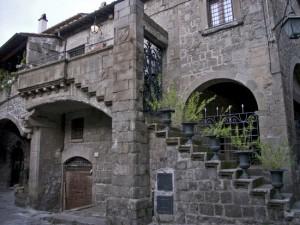Viterbo - Il quartiere San Pellegrino