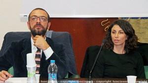 Andrea Egidi e Manuela Benedetti