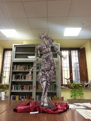 Una scultura di Carlo Venturi