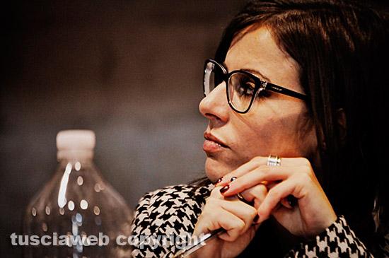Elisa Guida, studiosa della Shoah presso l'Unitus