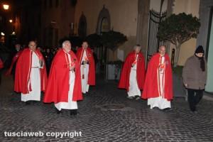 Viterbo - La processione in ricordo dei santi Valentino e Ilario