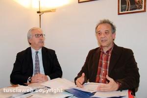 Gianfranco Fiorita con l'avvocato Roberto Alabiso