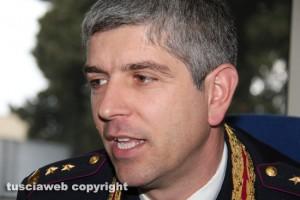 Il nuovo comandante della Polstrada Gianluca Porroni