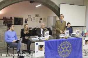 """Viterbo - Rotary club - Presentazione del concroso fotografico Philipp Bordignon """"Adotta un monumento"""""""