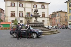 Ronciglione - Carabinieri in azione
