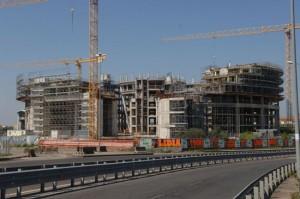 Viterbo - Polonord - La megastruttura dietro al tribunale