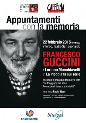 Viterbo - Francesco Guccini e Loriano Machiavelli al San Leonardo