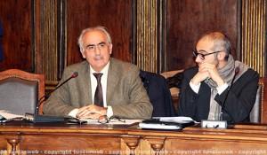 Civiter - L'assessore Alvaro Ricci con il sindaco Cozzolino