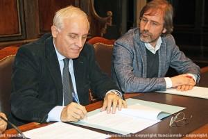 Civiter - La firma del sindaco di Terni Di Girolamo