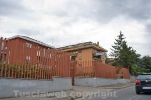 La caserma dei carabinieri di Civita Castellana