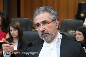 L'avvocato Fabrizio Ballarini