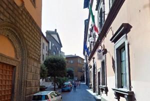 Viterbo - Palazzo Gentili, sede della provincia