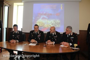 Operazione Silver and gold - La conferenza stampa