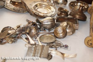 Operazione Silver and gold - Parte del materiale recuperato