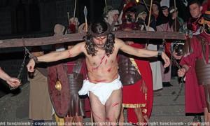 Viterbo - Venerdì Santo - La Crocifissione