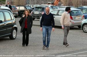Giorgia Meloni con Mauro Rotelli
