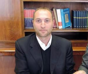 Il sindaco di Rignano Flaminio Fabio Di Lorenzi