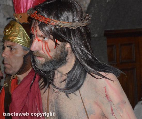 Papa Francesco celebra la passione di Cristo