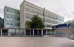 Viterbo - La scuola Pietro Egidi