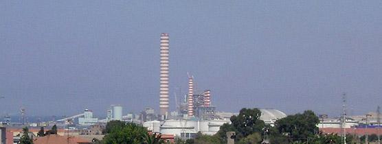 La centrale Torrevaldaliga Nord
