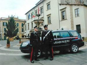 I carabinieri della compagnia di Ronciglione