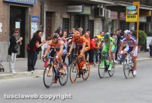 Sport - Ciclismo - Il giro d'Italia 2015 a Vetralla