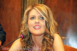 L'assessora Alessandra Troncarelli