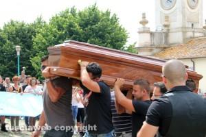 Monte Romano - Il funerale di Valentino Galantuomo
