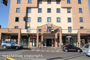 Viterbo - Gli uffici del comune in via Garbini