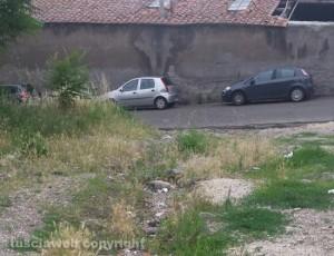 Viterbo - Il parcheggio delle Fortezze