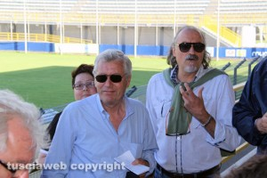 SportSport - Il sindaco Leonardo Michelini e il consigliere Sergio allo stadio Rocchi