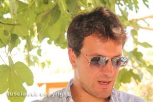 Luca Marcoccia, membro dell'associazione di promozione del Bagnaccio