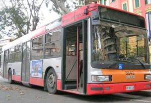 Un autobus dell'Atac