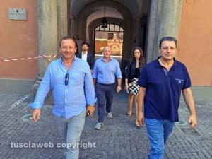 Viterbo - Consiglieri di minoranza escono dalla prefettura
