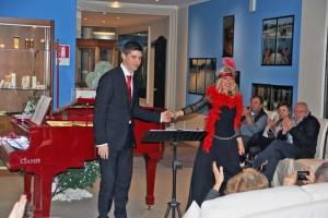 Matteo Biscetti e Mariella Spadavecchia
