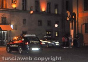 Viterbo - Intervento di polizia e carabinieri
