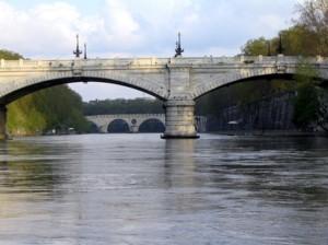 Roma - Il fiume Tevere
