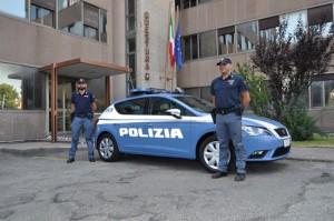Poliziotti della questura di Viterbo