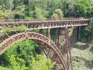 Ferrovia Civitavecchia Capranica Orte - Ponte sul Rio Vicano