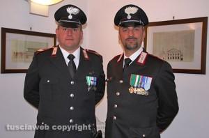 I neo vice brigadieri Mancuso e Frezza