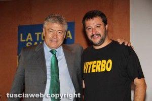 Umberto Fusco e Matteo Salvini