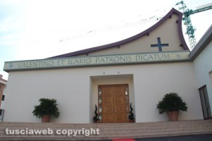 Villanova - La chiesa dei santi Valentino e Ilario