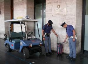 I controlli della Polizia ferroviaria