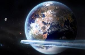 L'impatto tra un asteroide e la terra